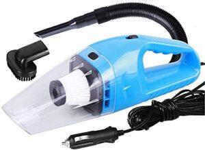 ABBBHHJL Aspirateur à Main aspirette Aspirateur sans Fil Vacuum de Voiture sous Vide 120W aspirateur 6 sur 1 aspirateur de Poche avec 5m pour la Maison Aspirateur à Main