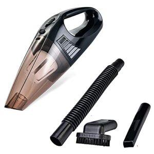 Aspirateur à main pour maison voiture sans fil aspiration puissante cyclonique rechargeable portable pour cheveux animaux domestiques poussière