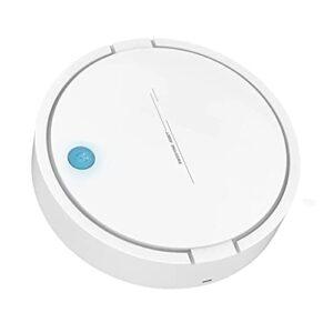 B Blesiya Aspirateur Robot Automatique 2-en-1 Intelligent à Faible Bruit capteur de poussière de Sol Nettoyage de Tapis pour Le Bureau à Domicile – Boîte à Main Blanc